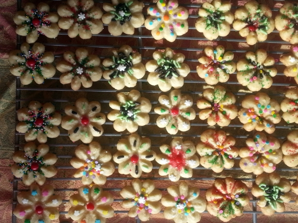 Cookie Flower Art